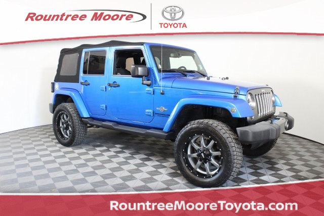 Pre Owned 2015 Jeep Wrangler Unlimited Sport