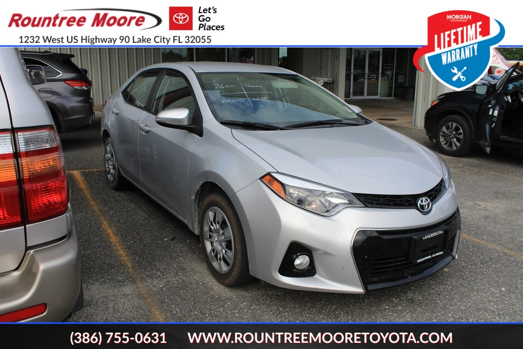 Lake City Toyota >> Pre Owned 2016 Toyota Corolla S 4d Sedan In Lake City X246093a