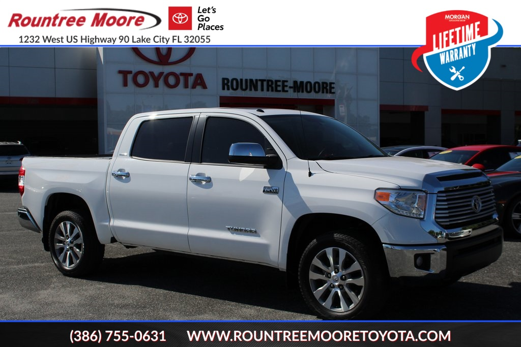 Certified Pre-Owned 2017 Toyota Tundra Limited